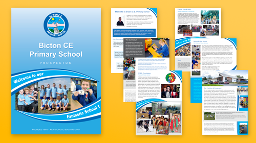 school prospectus design samples - Template